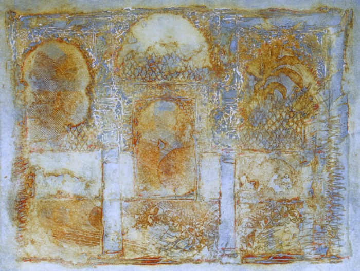 Alhambra ghost print