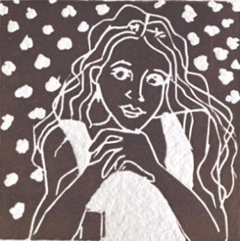 Maureen linocuts